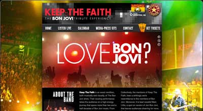Keep The Faith Bon Jovi Tribute Band