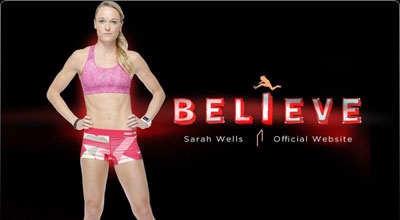 Sarah Wells Olympic Sprinter