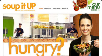 soup it UP Website