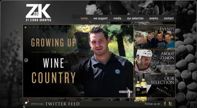 ZK Wines Website