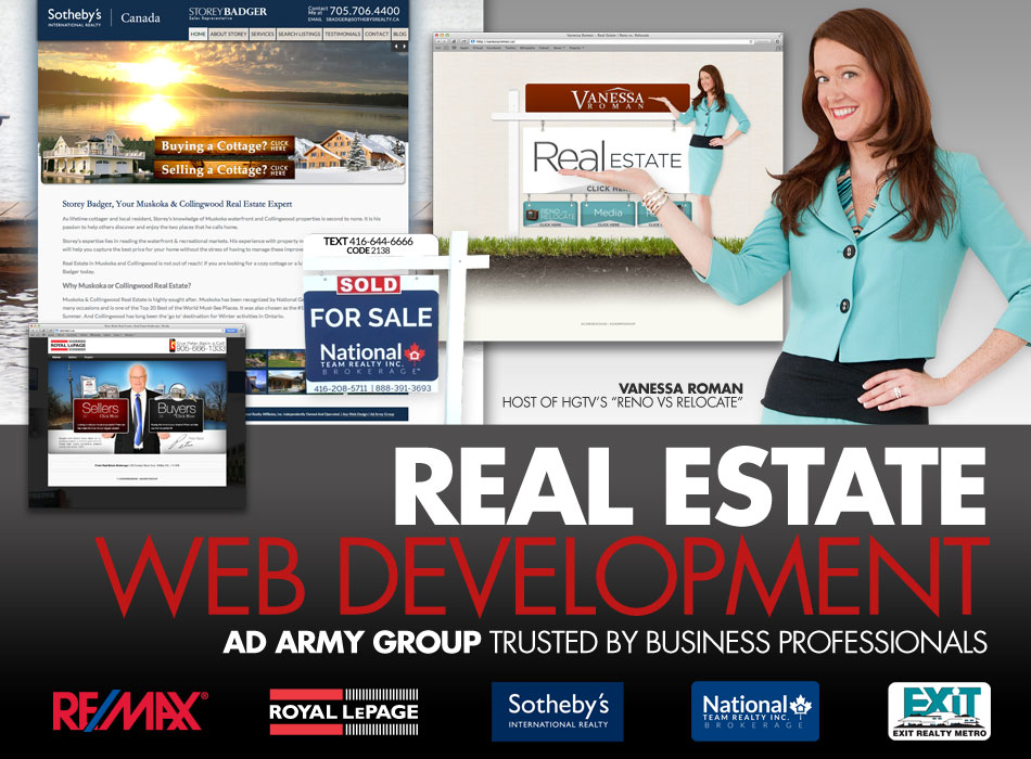 Realty Agent Web Development